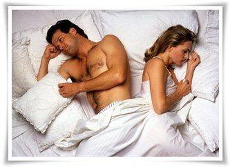 perché non cè erezione a letto)